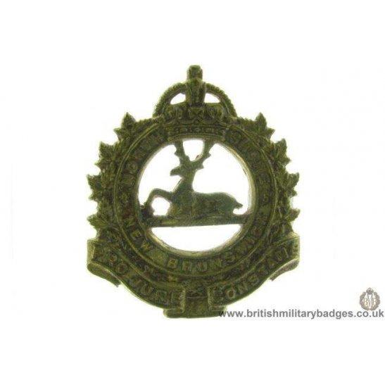 A1D/36 - North Shore New Brunswick Canadian Regiment Cap Badge
