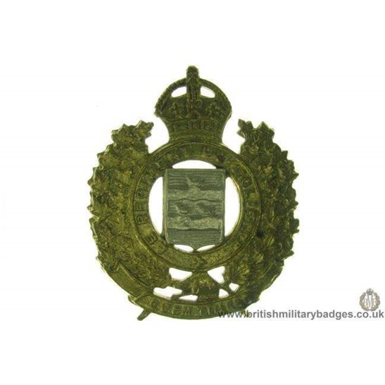 A1D/37 - Le Regiment De Joliette Canadian Cap Badge