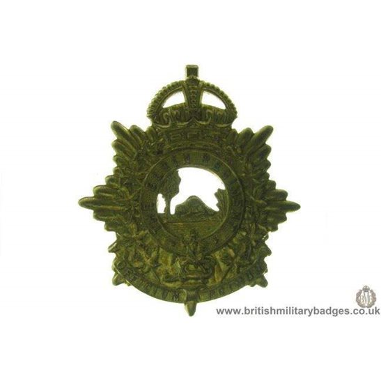 A1D/38 - The Elgin Regiment Canadian Cap Badge
