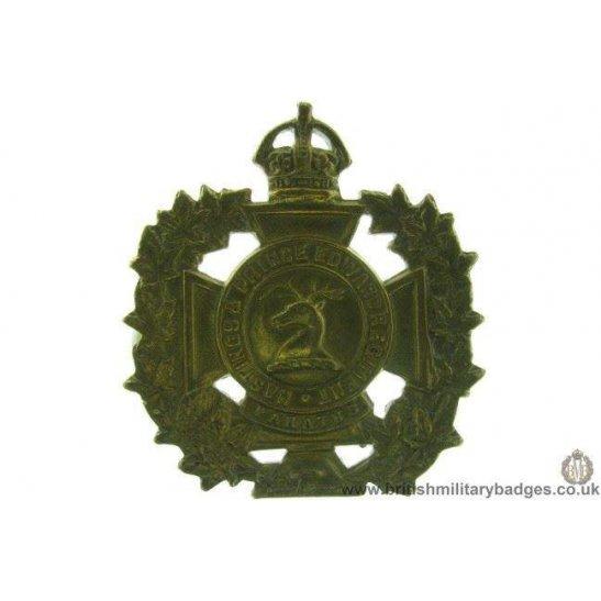 A1D/39 - Hastings & Prince Edward Regiment Canadian Cap Badge