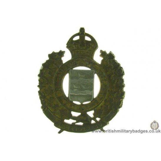 A1D/42 - Le Regiment De Joliette Canadian Cap Badge