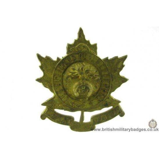 A1D/44  Les Fusilliers De Sherbrooke Regiment Canadian Cap Badge