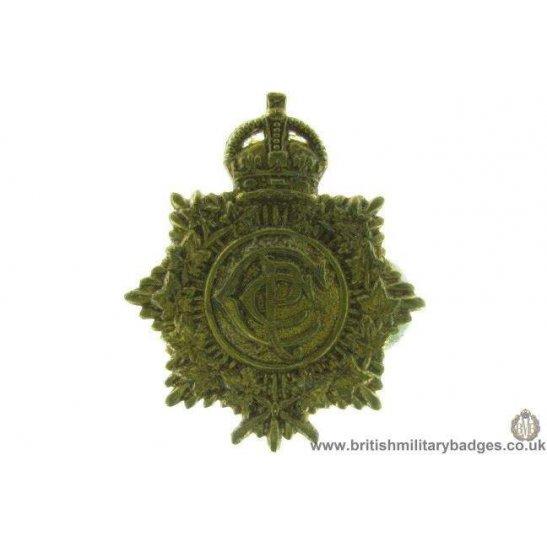 A1D/45 - The Canadian Postal Corps CPC Cap Badge
