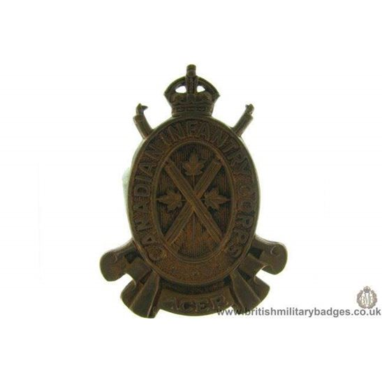 A1D/48 - Canadian Infantry Corps Cap Badge