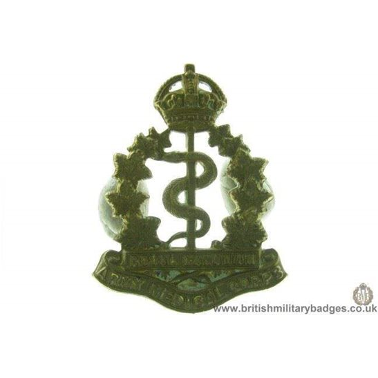 A1D/52 - Royal Canadian Army Medical Corps RCAMC Cap Badge