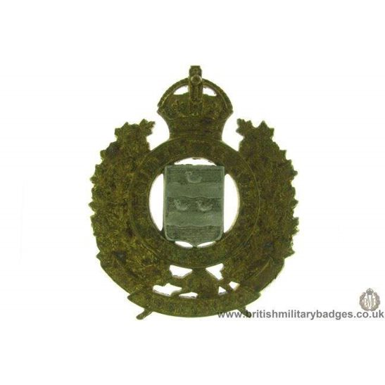 A1D/53 - Le Regiment De Joliette Canadian Cap Badge