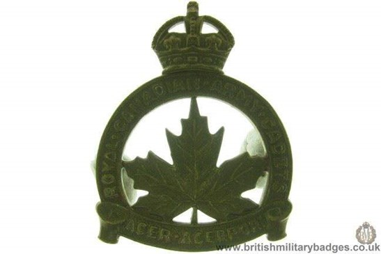 royal canadian army cadets application
