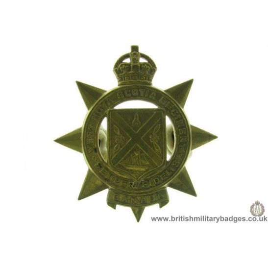 A1D/56 - West Nova Scotia Regiment Canadian Cap Badge