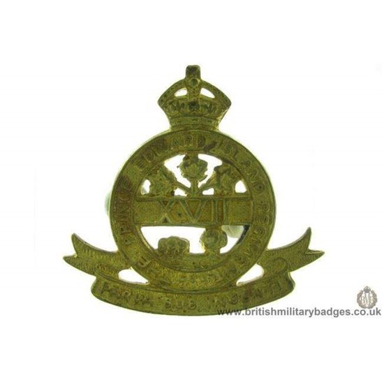 A1D/59 - The Prince Edward Island Regiment Canadian Cap Badge