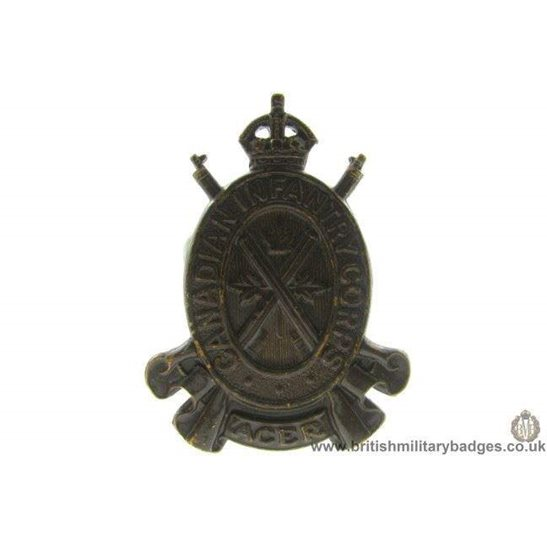 A1D/66 - Canadian Infantry Corps Cap Badge