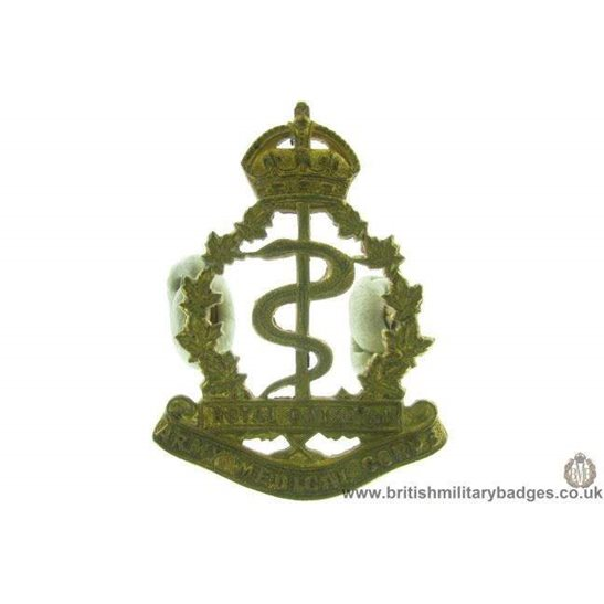 A1D/68 - Royal Canadian Army Medical Corps RCAMC Cap Badge