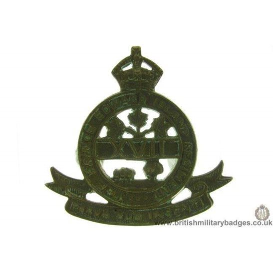A1D/71 - The Prince Edward Island Regiment Canadian Cap Badge