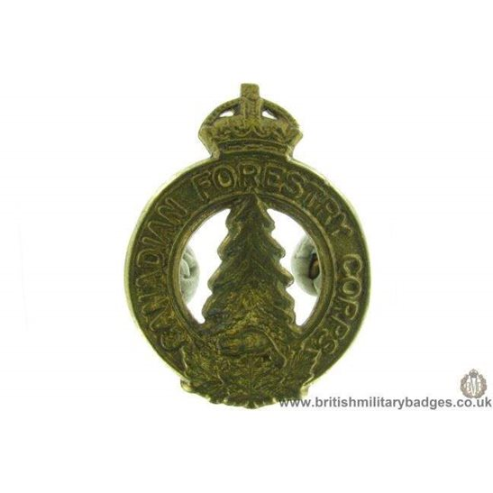 A1D/73 -  Canadian Forestry Corps Cap Badge