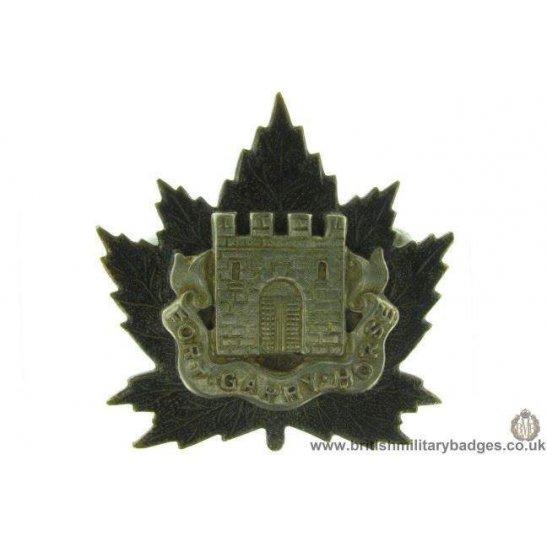 A1D/80 - Fort Garry Horse Canadian Regiment Cap Badge