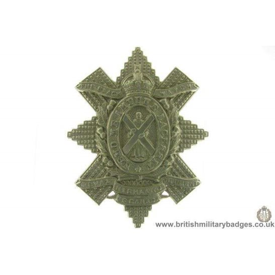A1D/85 - Royal Highland Regiment of Canada Black Watch Cap Badge