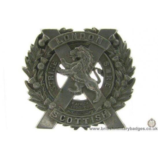 A1E/08 - The London Scottish Regiment Sporran Badge