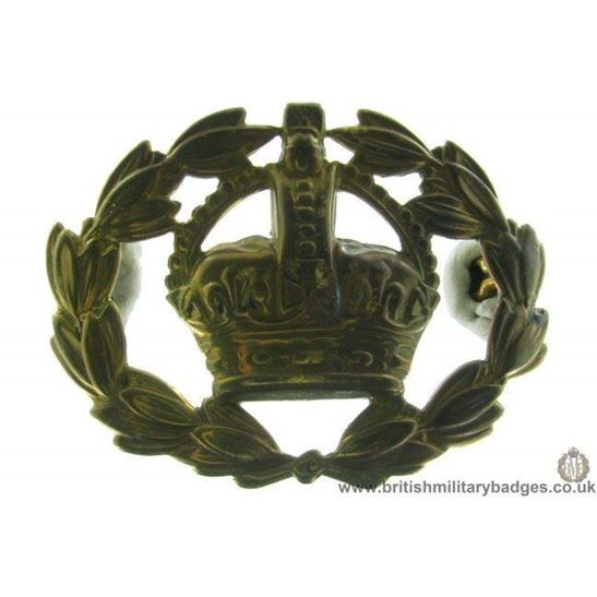 A1E/13 - Warrant Officer's Arm / Sleeve Cap Badge