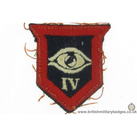 E1A/07 - IV 4th Guards Armoured Division Cloth Patch Badge