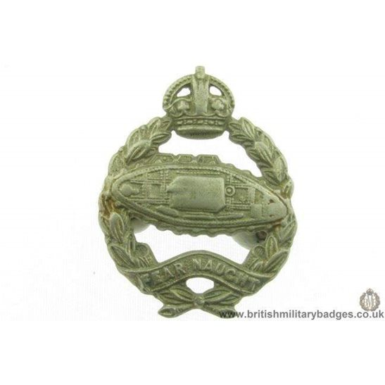 B1C/52 - The Tank Regiment Collar Badge