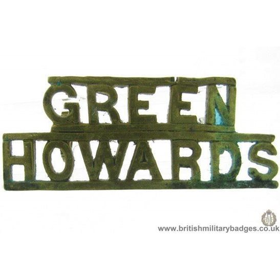 C1E/33 - Green Howards Yorkshire Regiment Shoulder Title