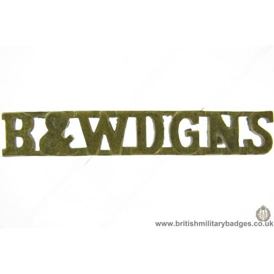 C1E/42 Berkshire & Westminister Dragoons Regiment Shoulder Title