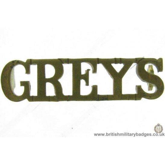 additional image for C1E/42 Berkshire & Westminister Dragoons Regiment Shoulder Title