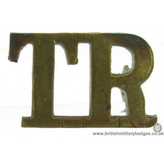 C1E/48 - The Tank Regiment Shoulder Title