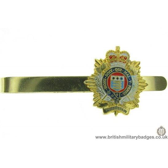 U1A/03 - Royal Logistics Corps Veterans Tie Clip Slide Bar