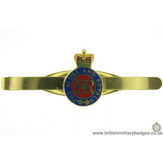 U1A/05 - Blues and Royals Regiment Veterans Tie Clip Slide Bar