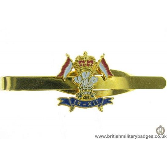 U1A/09 - 9th/12th Royal Lancers Regt Veterans Tie Clip Slide Bar