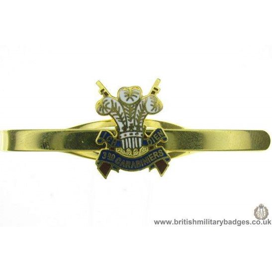 U1A/11 - 3rd Carabiniers Regiment Veterans Tie Clip Slide Bar
