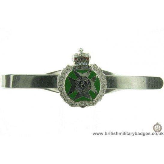 U1A/17  Royal Green Jackets Regiment Veterans Tie Clip Slide Bar