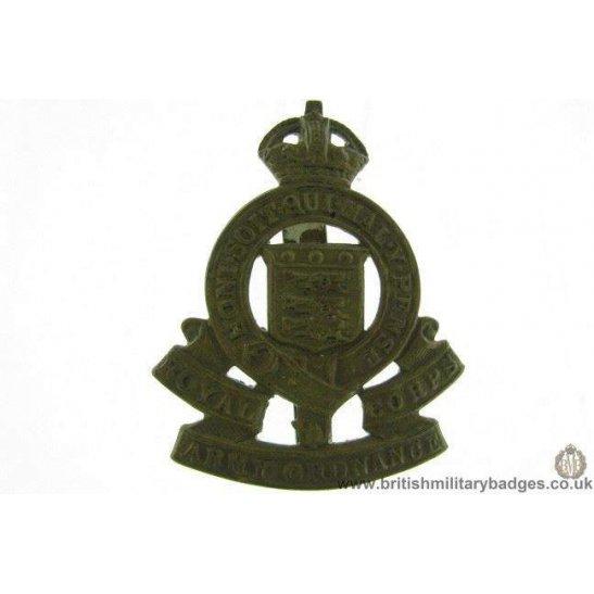 A1E/24 - Royal Army Ordnance Corps RAOC Cap Badge