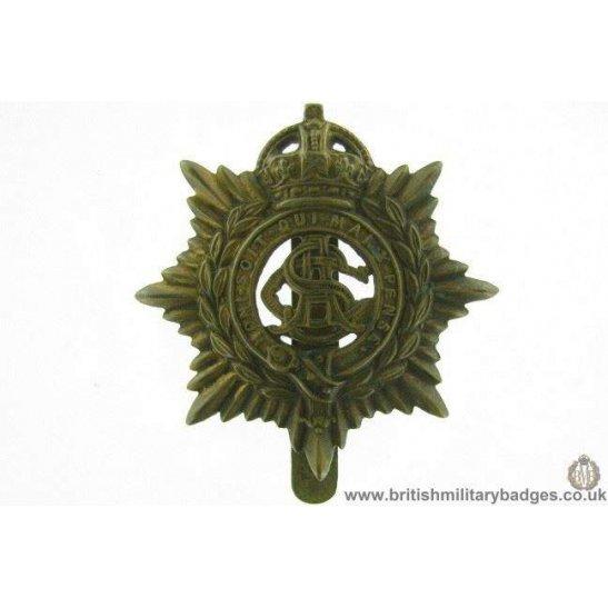 A1E/27 - Army Service Corps ASC Cap Badge