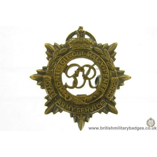additional image for A1E/33 - Royal Army Ordnance Corps RAOC Cap Badge