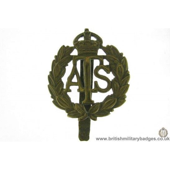 A1E/36 - Auxiliary Territorial Service ATS Cap Badge
