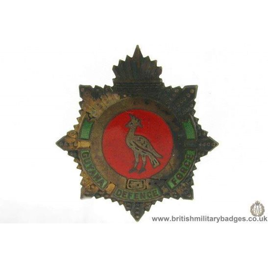 A1E/49 - Guyana Defence Force Regiment Cap Badge