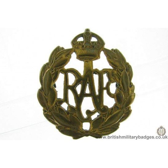 A1E/52 - Royal Air Force RAF Cap Badge