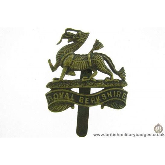 A1E/59 - Royal Berkshire Regiment Cap Badge