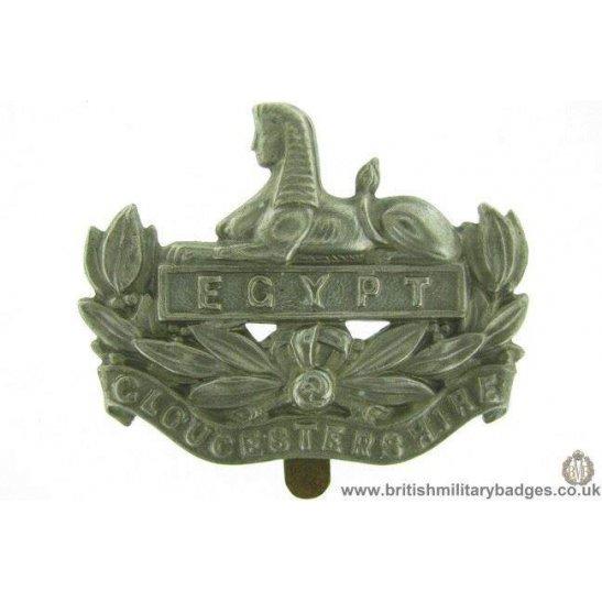 A1E/62 - The Gloucestershire / Gloucester Regiment Cap Badge