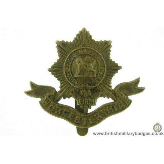A1E/65 - Worcestershire / Worcester Regiment Cap Badge