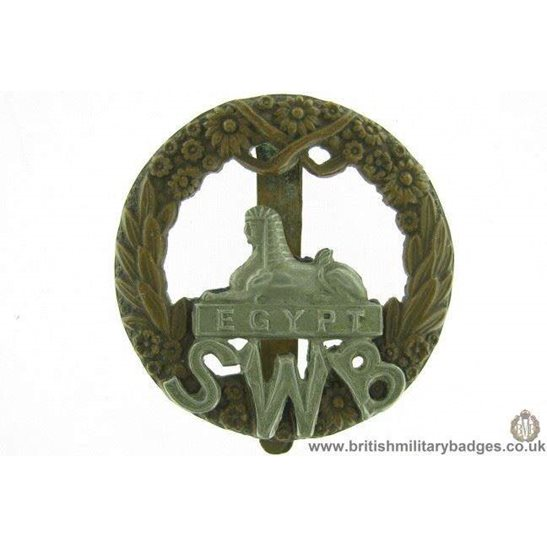 A1E/71 - South Wales Borderers SWB Regiment Cap Badge