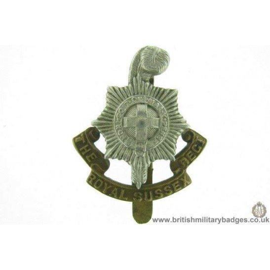 A1E/76 - Royal Sussex Regiment Cap Badge