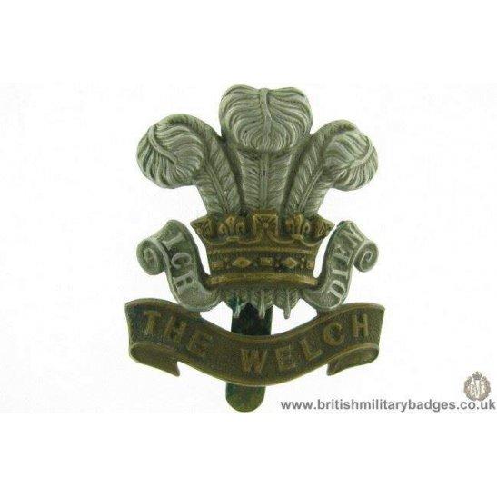 A1E/80 - The Welch / Welsh Regiment Cap Badge