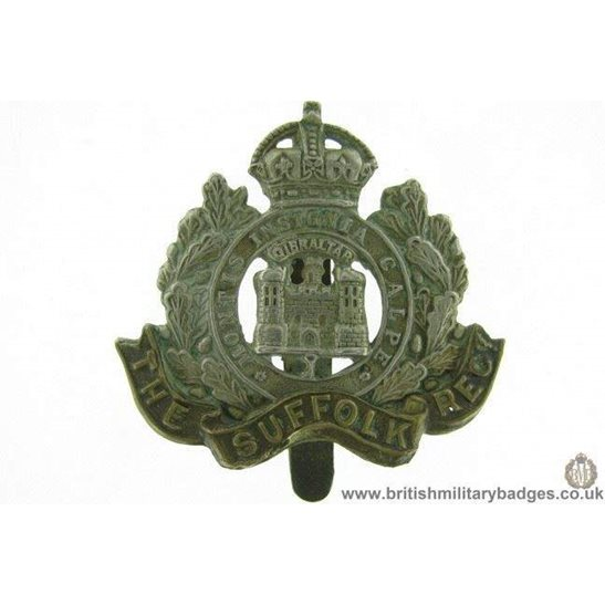 A1E/85 - The Suffolk Regiment Cap Badge
