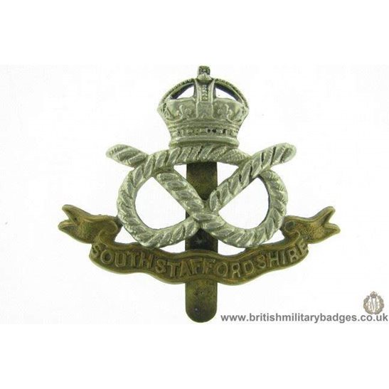 A1E/90 - South Stafford / Staffordshire Regiment Cap Badge