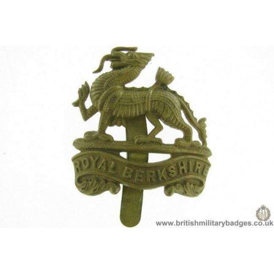 A1E/92 - Royal Berkshire Regiment Cap Badge