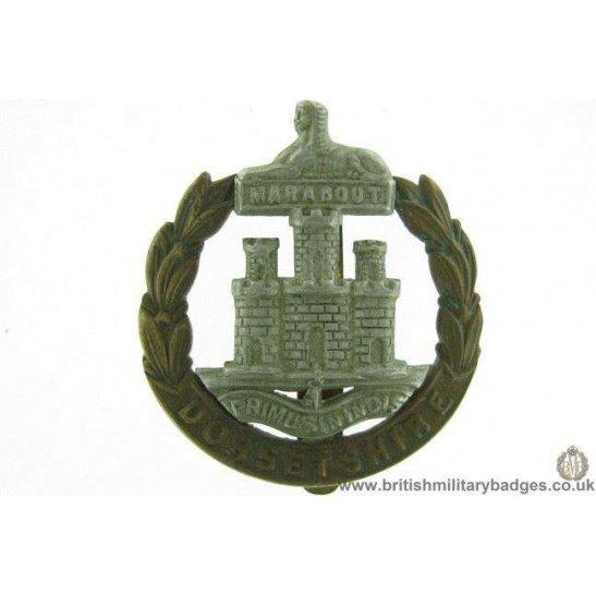 A1E/97 - Dorsetshire / Dorset Regiment Cap Badge