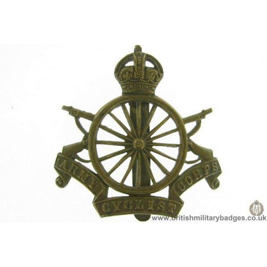 A1E/99 - Army Cyclists Corps ACC Regiment Cap Badge