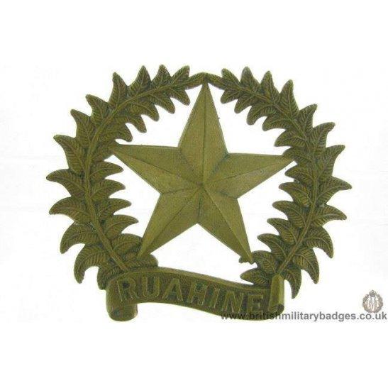 A1F/06 - 17th Ruahine Regiment New Zealand Army Cap Badge GAUNT